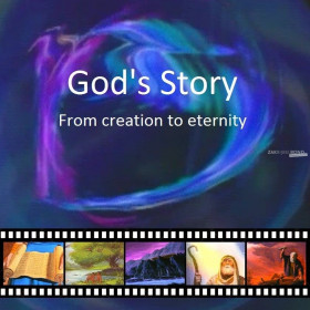 Chinees Kantonese Evangelisatiefilm (Video CD) - GOD'S STORY: Van Schepping tot Eeuwigheid