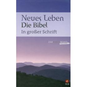 Duitse Bijbel, Neues Leben-vertaling, Groot Letter Bijbel, harde kaft