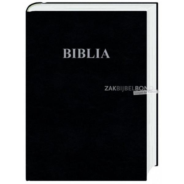 Poolse Bijbel in Herziene Gdansk-vertaling in groot formaat met harde kaft