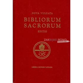 Latijnse Bijbel. Complete Bijbel in de Latijnse taal. Nieuwe Editie 1986. Uitgevoerd in groot formaat met harde kaft.