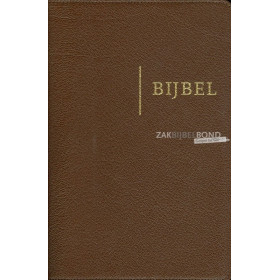 Nederlandse Bijbel in de Herziene Statenvertaling - EDGE LINED EDITION - Luxe editie met leren kaft en goudsnede.