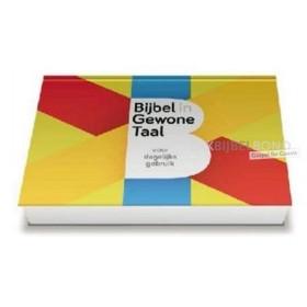 BGT Voor dagelijks gebruik - Dwarsligger met selectie aan bijbelteksten uit de Bijbel in Gewone taal (BGT).