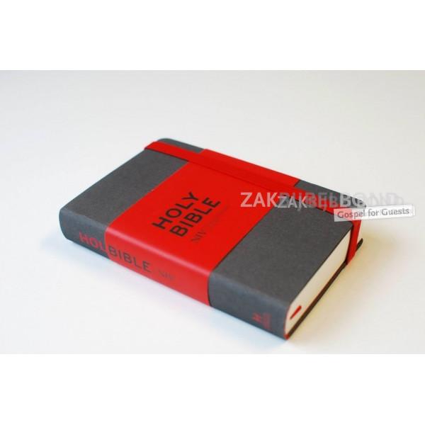 Engelse Bijbel NIV - Notebook Bible grey