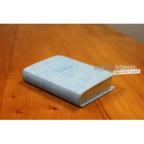 Engelse Bijbel in de New International Version (NIV) - POCKET PASTEL BLUE BIBLE - Medium formaat met zilversnede