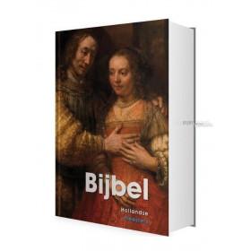 Nederlandse Bijbel in de Herziene Statenvertaling. Bijbel met Hollandse Meesters. Groot formaat met harde kaft