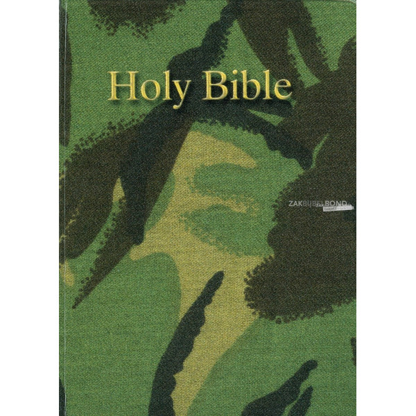 English Bible in the King James Version Pocket Reference Bible (camouflage vinyl)