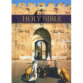 Engelse Bijbel KJV- Royal Ruby Text Bible (pictorial hardback)
