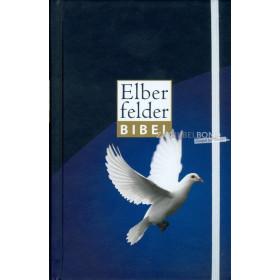 Duitse Bijbel in de Herziene Elberfelder-vertaling (Revidiert). Uitgevoerd in medium formaat, wit sluitbandje, harde kaft met af