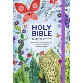Engelse Bijbel in de New International Version (NIV) - JOURNALLING BIBLE - Illustrated by Hannah Dunnett