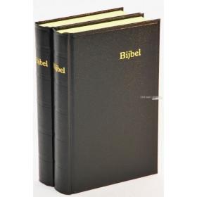 Nederlandse Bijbel in de Statenvertaling. Extra groot formaat met harde kaft