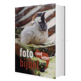 Nederlandse Bijbel in de Het Boek-vertaling. ROODLETTER FOTOBIJBEL