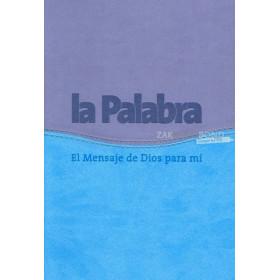 Spaanse Bijbel in de Biblia La Palabra vertaling. GROOT LETTER BIJBEL. Groot formaat met Vivella kaft en goudsnede