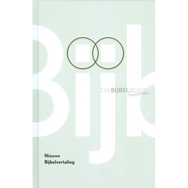 Nederlandse HuwelijksBijbel (NBV) - TrouwBijbel in de Nieuwe Bijbelvertaling uitgevoerd met witte harde kaft. MET INSTEEKHOES