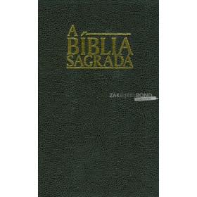 Portugese Bijbel in de Almeida Corrigida e Fiel (ACF)-vertaling. Uitgevoerd in groot formaat met harde kaft.