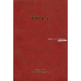 Haïtian Creole Bible in contemporary translation. Large sized flexcover.