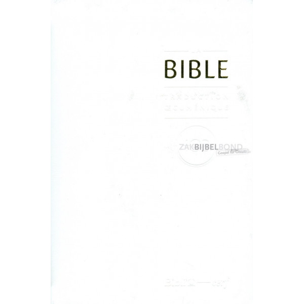 French Wedding Bible TOB 2010