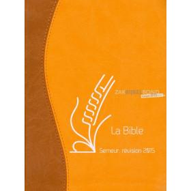 Franse Bijbel in de Semeur 2015-vertaling.  Medium formaat met Vivella kaft en afgeronde hoeken.