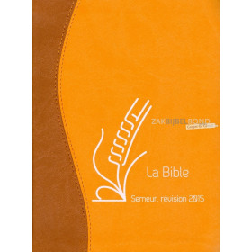 French Bible in the Semeur 2015 translation. Medium size with imitation leather and rounded corners.