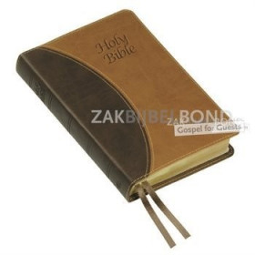 Engelse Bijbel KJV - Windsor Text Bible (Vivella) - Two-Tone Brown