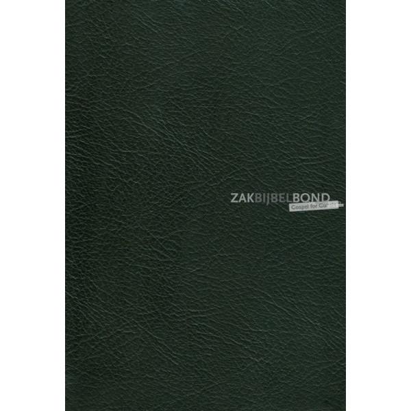 Engelse Bijbel KJV - Windsor Text Bible (calfskin) - Black - Goudsnede en rits