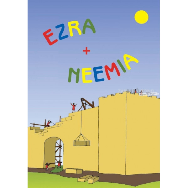 Roemeens kleurboek - Ezra & Nehemia