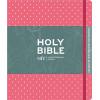 Engelse Bijbel NIV - Journaling Bijbel roze zonder belijning