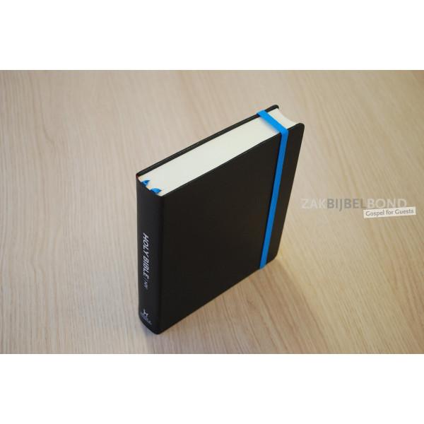 BLACK NIV Journaling Bible - unlined margin