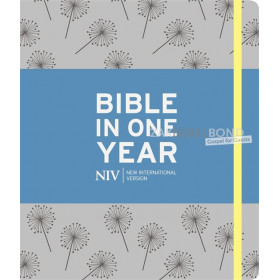 Engelse Bible NIV - Journaling Bible in one year