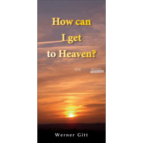 English tract - How can I get to Heaven?
