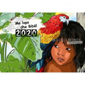 Albanian colouring calendar 2019 for children