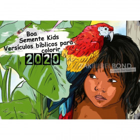 Portugese kleurkalender 2020 voor kinderen