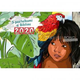 Slowaakse kleurkalender 2020 voor kinderen