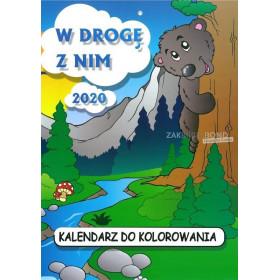 Poolse kleurkalender 2020 voor kinderen