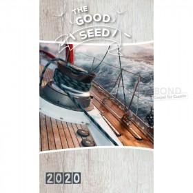 Engelse GROOT LETTER boekkalender - Het Goede Zaad