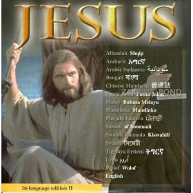 DVD Jezusfilm met 16 talen - Editie II
