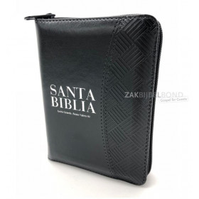Spanish Bible Reina Valera zipper
