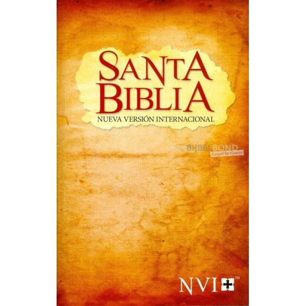 Spanish Bible NVI paperback