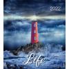 English postcard calendar 2022