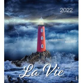 French postcard calendar 2022