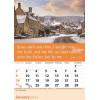 English wall calendar 2022