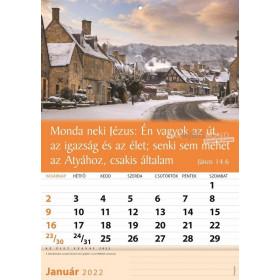 Hungarian wall calendar 2022