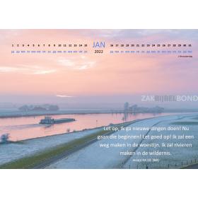 Nederlandse Wandkalender BasisBijbel