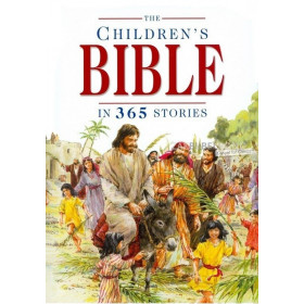 Engelse Kinderbijbel, The Children's Bible in 365 stories, Mary Batchelor/John Haysom, harde kaft