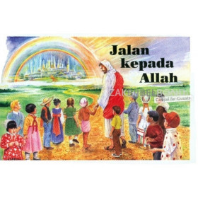 Indonesisch, Kindertraktaat, The Way to God [kindermateriaal]