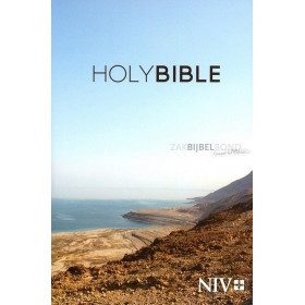 Engelse Bijbel in de New International Version (NIV) in paperback-uitvoering.